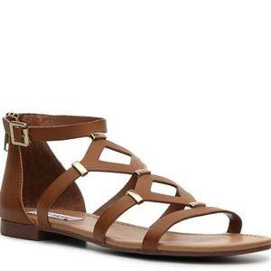 Steve Madden tan Cael  gladiator sandals